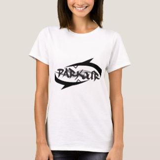 Parkour abstrait t-shirt