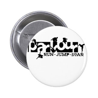 Parkour Badges Avec Agrafe