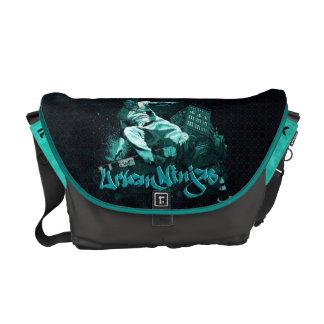 Parkour - sac messenger urbain à Ninja Besace