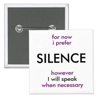 parlera si nécessaire badge