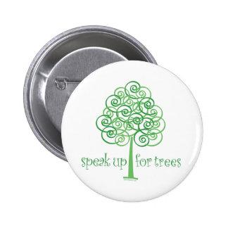 Parlez pour des arbres - arbre Hugger Badge