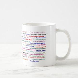 Parlez-vous… ? dans beaucoup de langues mug
