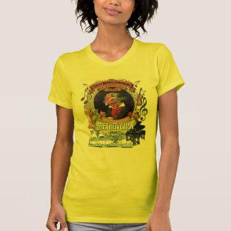 Parodie animale de Beethoven de compositeur de T-shirt