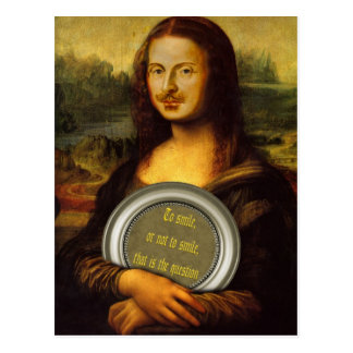 Parodie de William Shakespeare Carte Postale