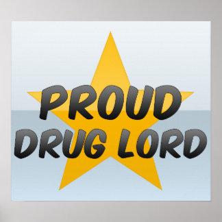 Parrain de la drogue fier posters