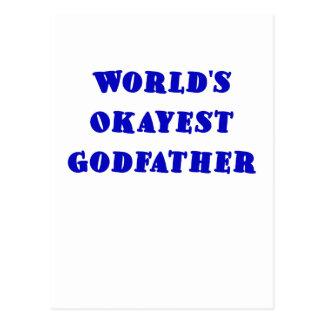 Parrain d'Okayest des mondes Cartes Postales