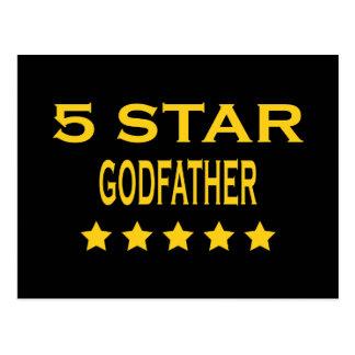 Parrains frais drôles Parrain de cinq étoiles