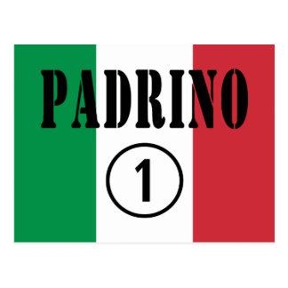 Parrains italiens : L'ONU de Padrino Numero Cartes Postales