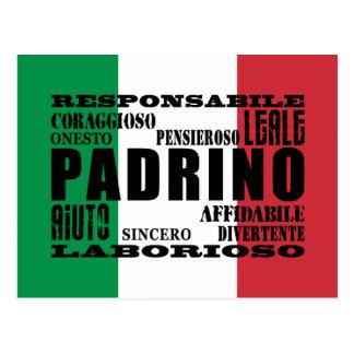Parrains italiens : Qualités Cartes Postales