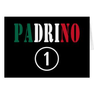 Parrains mexicains L ONU de Padrino Numero Carte De Vœux