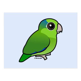 Parrotlet Pacifique vert Carte Postale