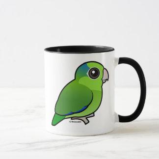 Parrotlet Pacifique vert Tasses