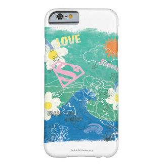 Part de Supergirl l'esprit et l'amour Coque Barely There iPhone 6