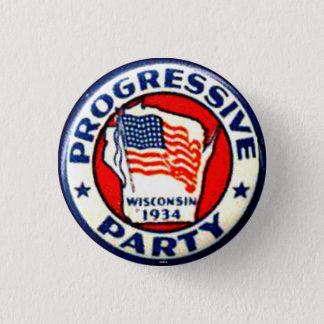 Parti Progressiste - bouton Badges