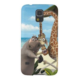 Participation de Gloria et de main de Melman Coques Galaxy S5