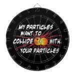 Particules d'amour de geek jeu de fléchettes