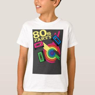 partie 80s t-shirt