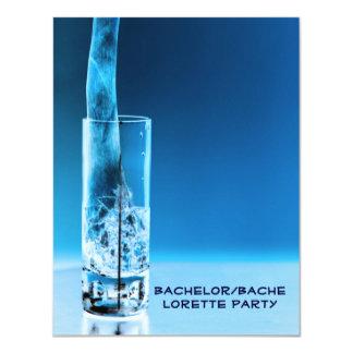 Partie de Bachelorette de célibataire Carton D'invitation 10,79 Cm X 13,97 Cm