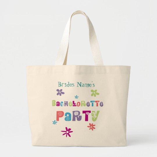 Partie de Bachelorette Grand Tote Bag