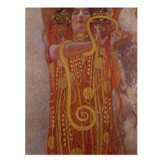 Partie de description sommaire de la peinture de carte postale