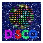 Partie de DISCO - SRF Carton D'invitation 13,33 Cm