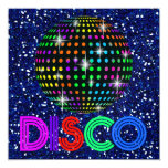 Partie de DISCO - SRF Invitations Personnalisées