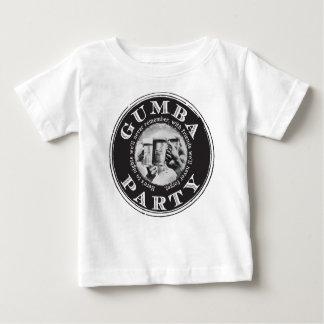 Partie de Gumba - logo noir T-shirt Pour Bébé