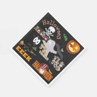 Partie de Halloween Serviette Jetable