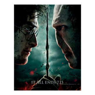 Partie de Harry Potter 7 - Harry contre Voldemort Poster