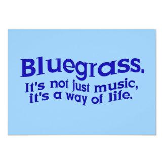 Partie de musique de Bluegrass ou session de Invitation Personnalisée