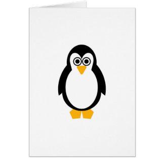 Partie de pingouin carte de vœux