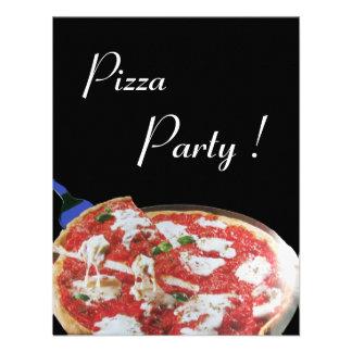 PARTIE de PIZZA dîner ITALIEN de CUISINE brunch Faire-parts