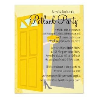 Partie de Potluck Faire-parts