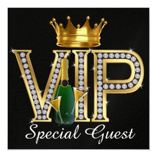 Partie de VIP - invitation d'événement spécial -