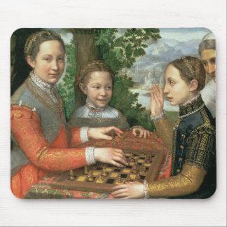 Partie d'échecs, 1555 tapis de souris