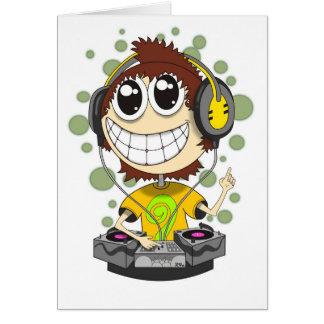 Partie DJ Carte De Vœux