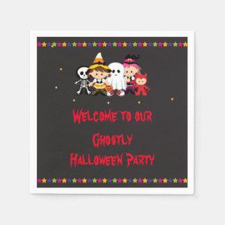 Partie éffrayante de Halloween Serviettes En Papier