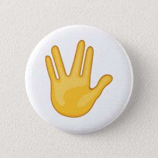 Partie entre le milieu et les doigts d'anneau - badge