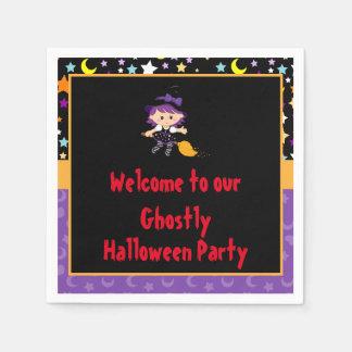 Partie mignonne de costume de Halloween de Serviette En Papier