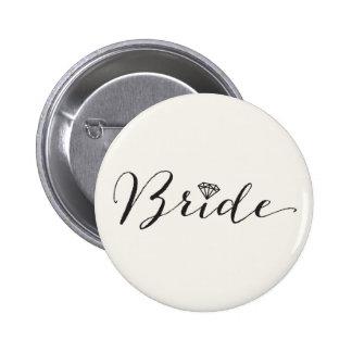 Partie nuptiale de mariage chic de diamant de pin's