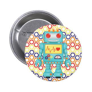 Partie orientée de robot pin's