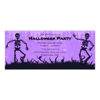 Partie pourpre Invitatio de Halloween de Faire-part