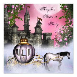Partie rose de princesse Sweet 16 de roses Bristols