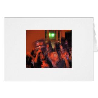 Partie San Francisco 2008 de victoire d'élection Carte De Vœux
