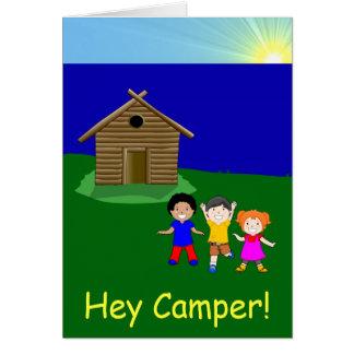 Partir pour camper carte