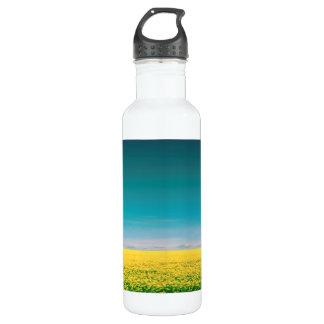 Partons attente dans les domaines bouteille d'eau