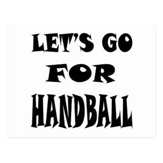 Partons pour le HANDBALL