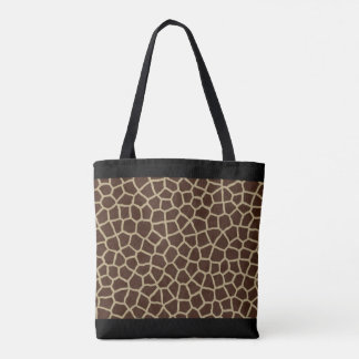 Partout copie de girafe tote bag