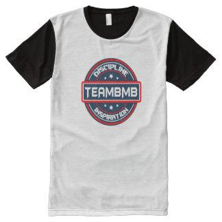 Partout T-shirt imprimé de panneau