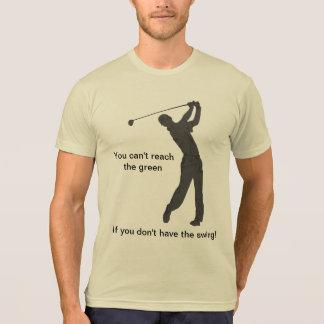 Partouzeur de golf personnalisable t-shirt